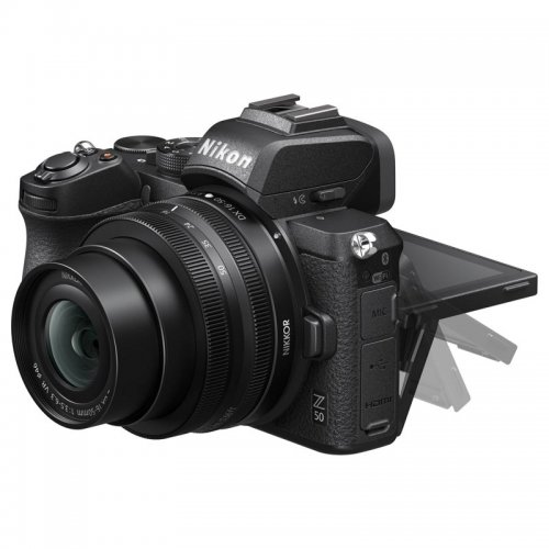 Nikon mirrorless Z50 DX 16-50mm e 50-250mm